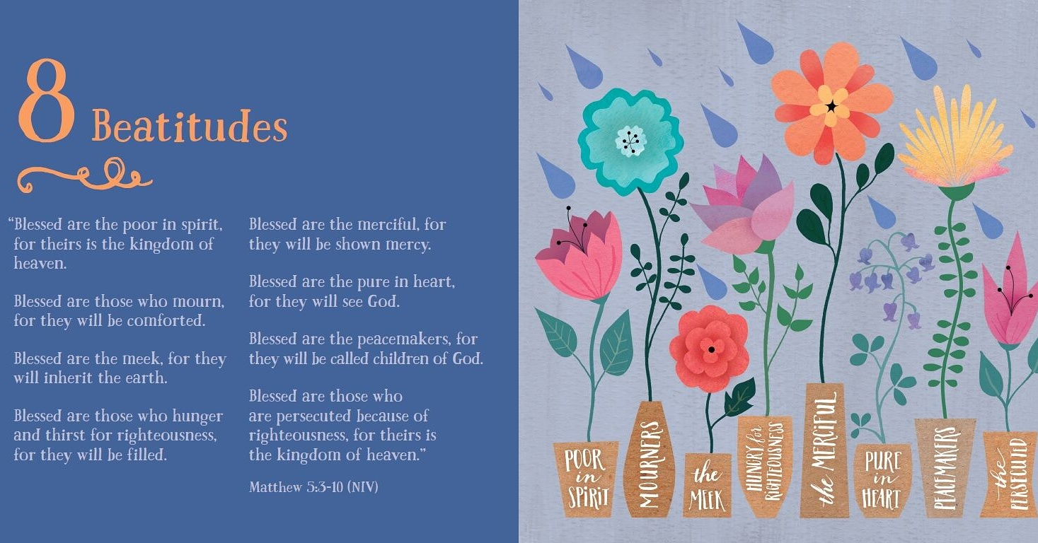 Bible Basics book Beatitudes